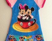 Girls - Teacup Pals Custom Dress (2t-13/14)