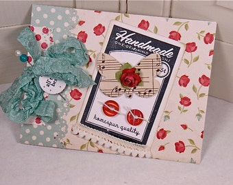 Handmade Greeting Card All the Best