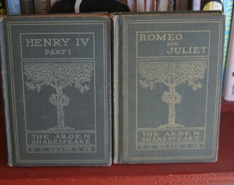 Shakespeare Books Romeo and Juliet-reserved for Cheryl