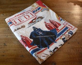 Vintage Rare 80's Star Wars Sheet // Return Of The Jedi Twin Flat Sheet