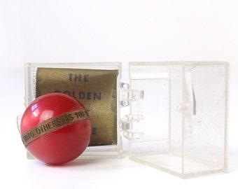Vintage Golden Rule Marble