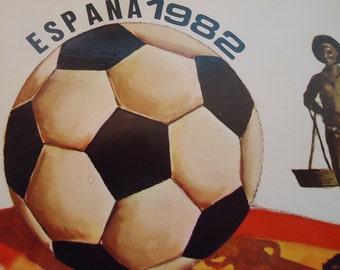 Spanish Football Postcard.1982