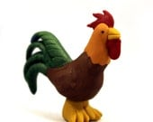 Rooster Starting Token, Starting Player, Agricola Theme