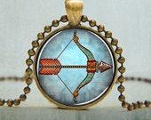 Sagittarius Necklace - Zodiac Necklace - Sagittarius Jewelry - Horoscope Necklace - Zodiac Necklace - No. 5031