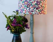Liberty lampshade - Floral Lampshade - Liberty of London - flowers - 'Betsy' - living room - bedroom - home decor - country cottage - 20cm
