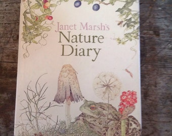1979 Janet Marsh's Nature Diary Book