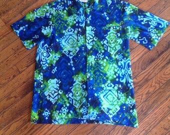 Vintage McInerny Mc Inerny Hawaii Hawaiian Shirt Mens M