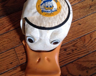 Vintage Mouseketeers Donald Duck Mickey Mouse Club Hat