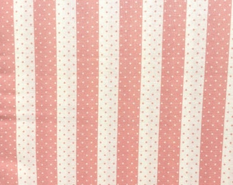 Vintage Modern Bonnie & Camille stripes pink moda fabric FQ or more