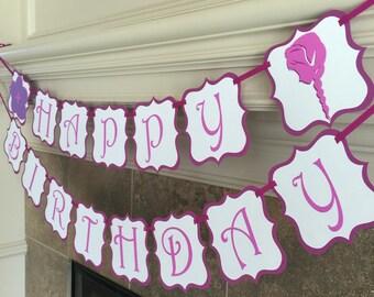 Frozen Birthday Banner - Frozen Birthday Party - Frozen Party Banner - Handmade Pinterest Party Banner