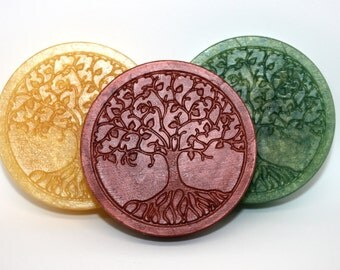Tree of Life Soap - mythology, sacred tree, roots and branches, Yggdrasil, pagan, yew, Etz Chaim, sacred grove, druids, druidism, forest