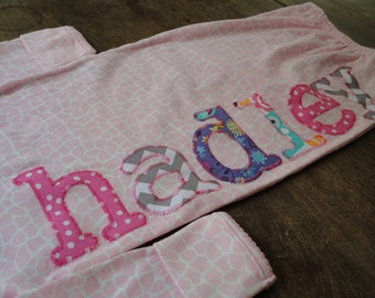 Personalized or Monogram on Infant Gown