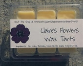 Claire's Flowers Soy Blend Wax Tarts (Outlander)