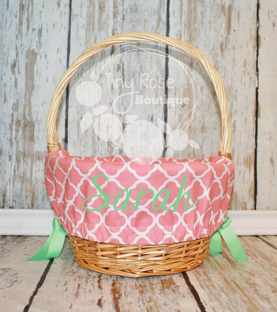Personalized Easter Basket Liners Page Two Easter Wikii