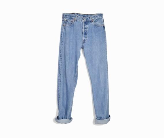 Vintage Levi's 501 Jeans / Denim Boyfriend Jeans / 29 waist x 33 length