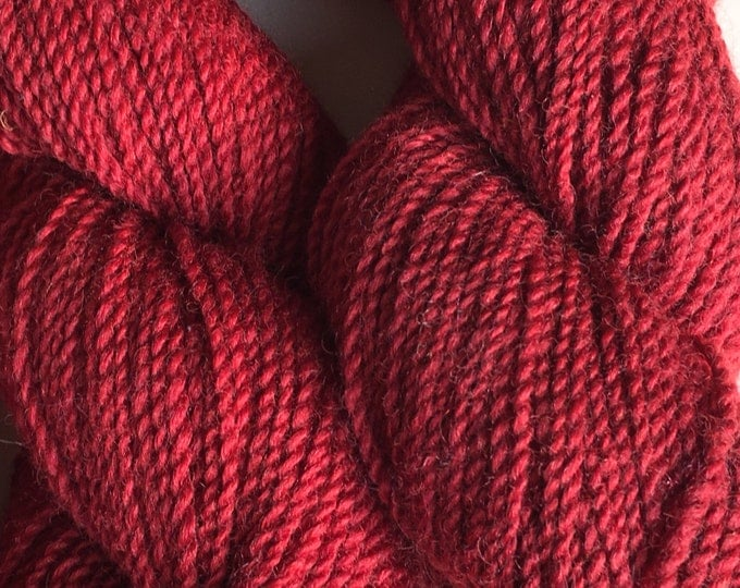 Cochineal Maine Wool Worsted