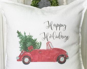 Farmhouse Christmas Decor | Pillow Cover | Farmhouse Decor | Cottage Decor | Christmas Pillow | Xmas Farmhouse