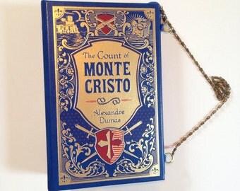 The Count of Monte Cristo Book Purse