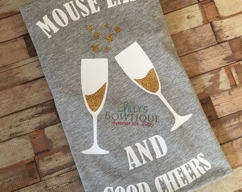 Epcot Food and Wine Tee/Mouse Ears and Good Cheers/Epcot shirt/Food and Wine Shirt/Drinking at Epcot Shirt