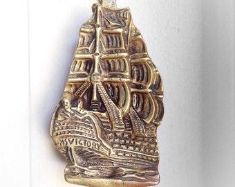 Door Knocker Bronze Sailing Ship