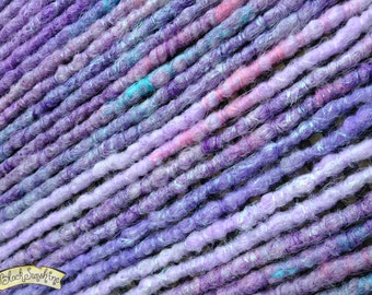 Unicorns are Real Crochet Synthetic Dreads x14 DE - pink purple blue pastel