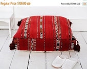 20% Off Spring Sale Pre Xmas 20 Percent Off Sale Chirstmas Gift Ideas,Kilim Moroccan Floor Cushion Pouf -home gifts, wedding gifts, annivers