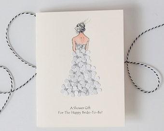 Bridal shower card Etsy