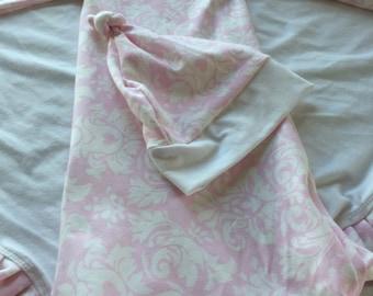 beautiful baby girl /gown ,hat,blanket