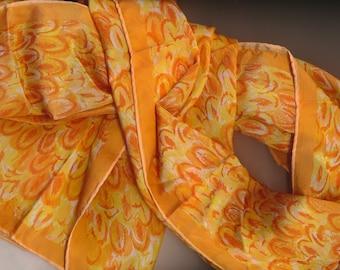 Fall Orange Vera Scarf
