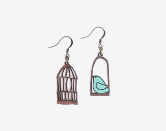BLUE FREEDOM, Loving Birds Collection by Materia Rica