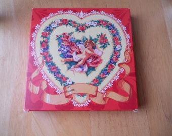 Vintage Hearts For You Soap Set - 5 Soaps - .75 Ounces Each - From Avon