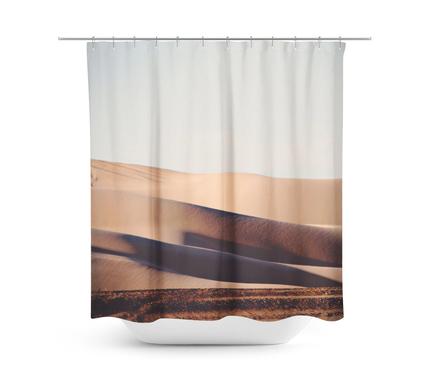 rustic bathroom shower curtains sand dune shower curtain rustic bathroom by sylviacphotography 20271