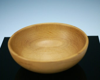 Wooden Bowl, Maple Wood Bowl, B1824