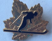 Vintage Mont Tremblant Ski Club Pin Brooch Quebec