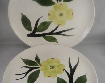 Dixie Dogwood by Joni Dinner Plates Two (2)