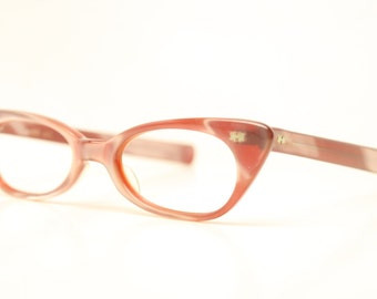 Cat Eye Glasses Fun Red vintage cateye frames NOS
