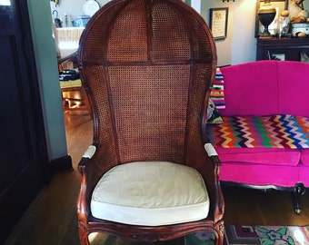 French Antique Porter's Chair