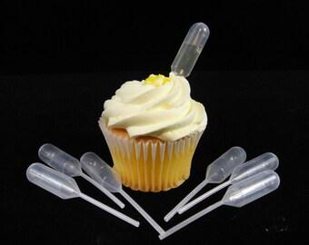 Mini Flavor  Liquor Injectors, Cupcake Liquor Injectors, Mini Droppers, Mini Liquor Injectors, Liquor Cupcakes. Strawberry Infuzer - Qty 24