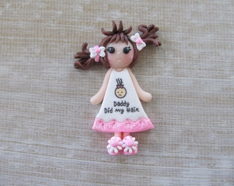 DIY Chunky Necklace, Clay for bows, Clay pendant for chunky necklaces, character clays, destash, Daddy did my hair