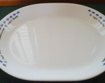 Corelle - COR 130 - Rare - HTF - Meat Platter - EUC - Read Below