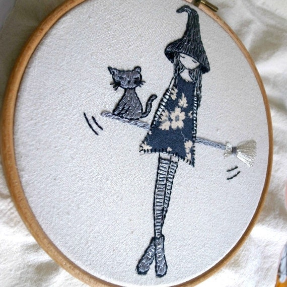 feeling witchy embroidery pattern pdf