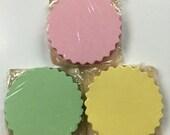 Vintage Pastel Paper Coasters Party
