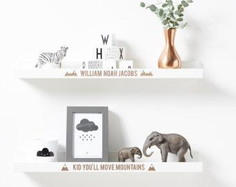 Personalised Adventure Shelf