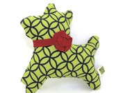 Small Dog Toy Extra Durable - Terrier