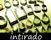 Intirado, Wholesale Shadow Box Pendant, Clear Lockets, Diorama, Living Plant Jewelry, Locket Case, Reliquary, Etched, Marimo Necklace, 25pcs