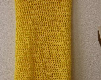 Extra Large Tube Cowl Snood Canary Yellow***FREE Shipping (USA addrress only)***