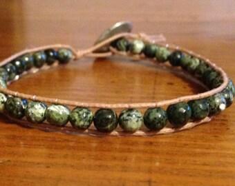 Chan Luu green bracelet