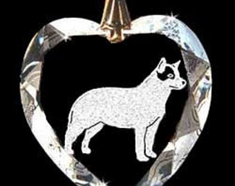 Australian Cattle dog Jewelry Custom Crystal Necklace Pendant, Suncatcher with any Animal or Name YOU Want, Gift, Dog Lover, Handler, puppy,