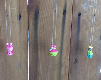 Shopkins Inspired Necklaces with Beads