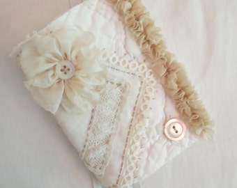 Lace Covered Needlebook